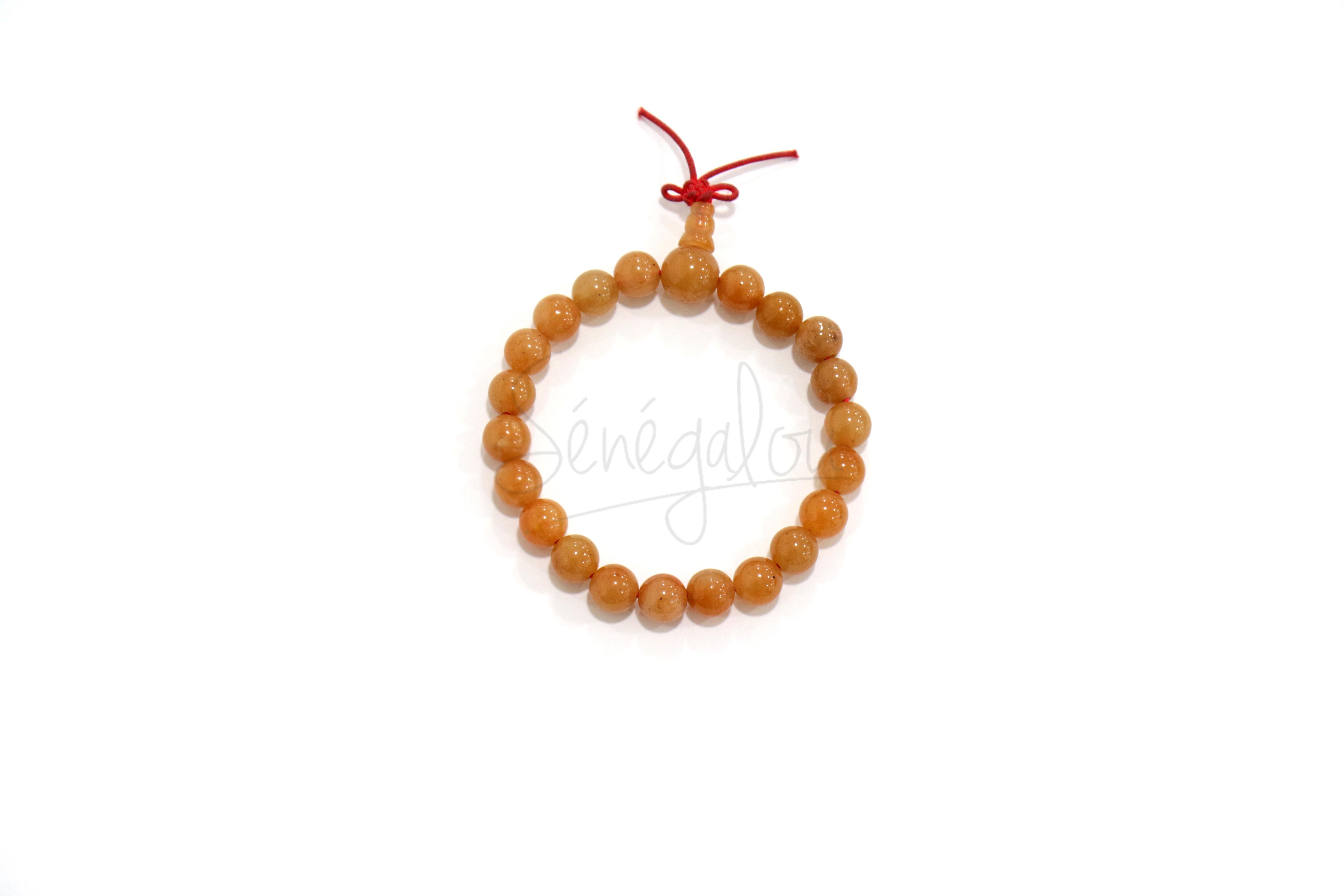 Bracelet Mala Aventurine Rouge