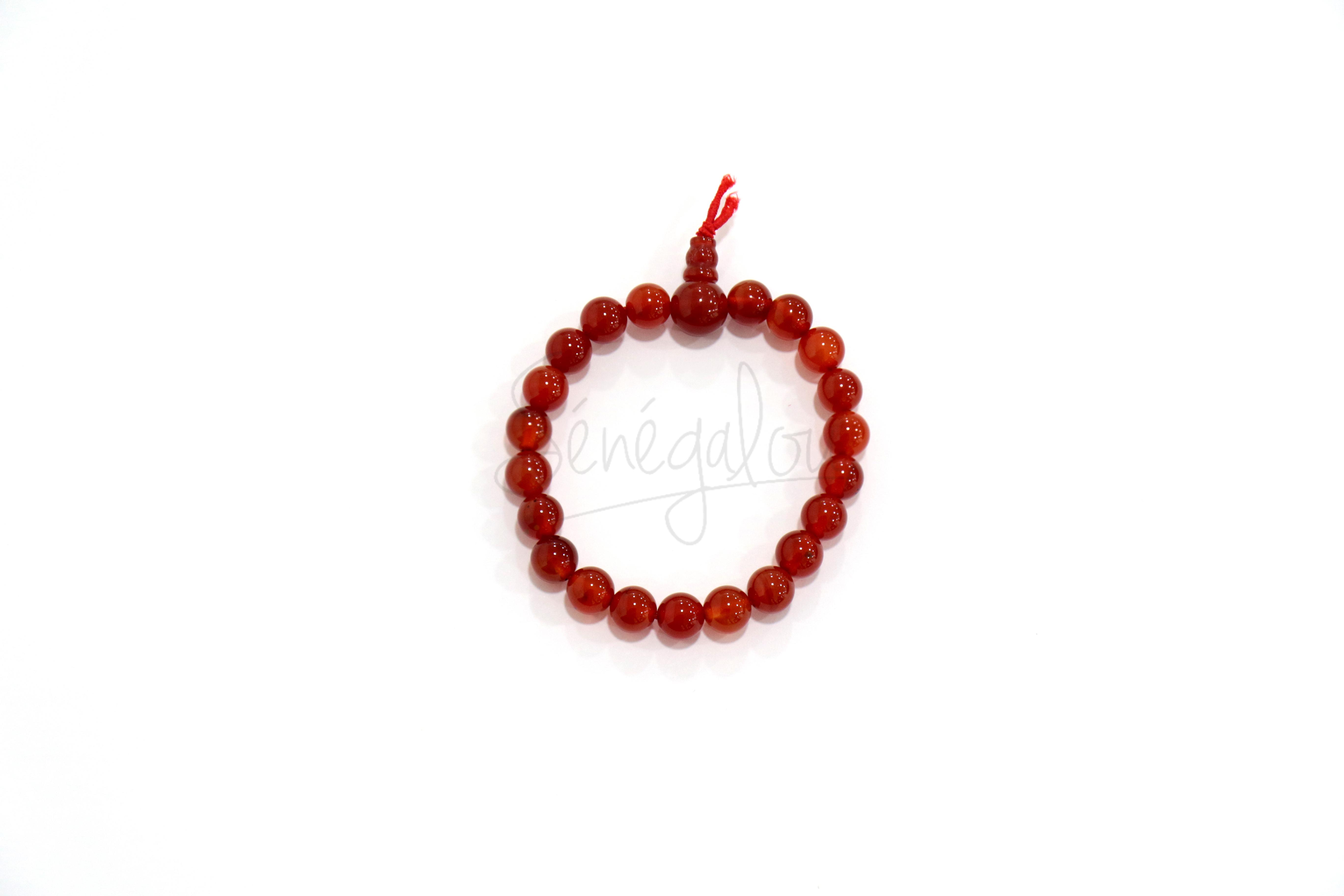Bracelet Mala Cornaline