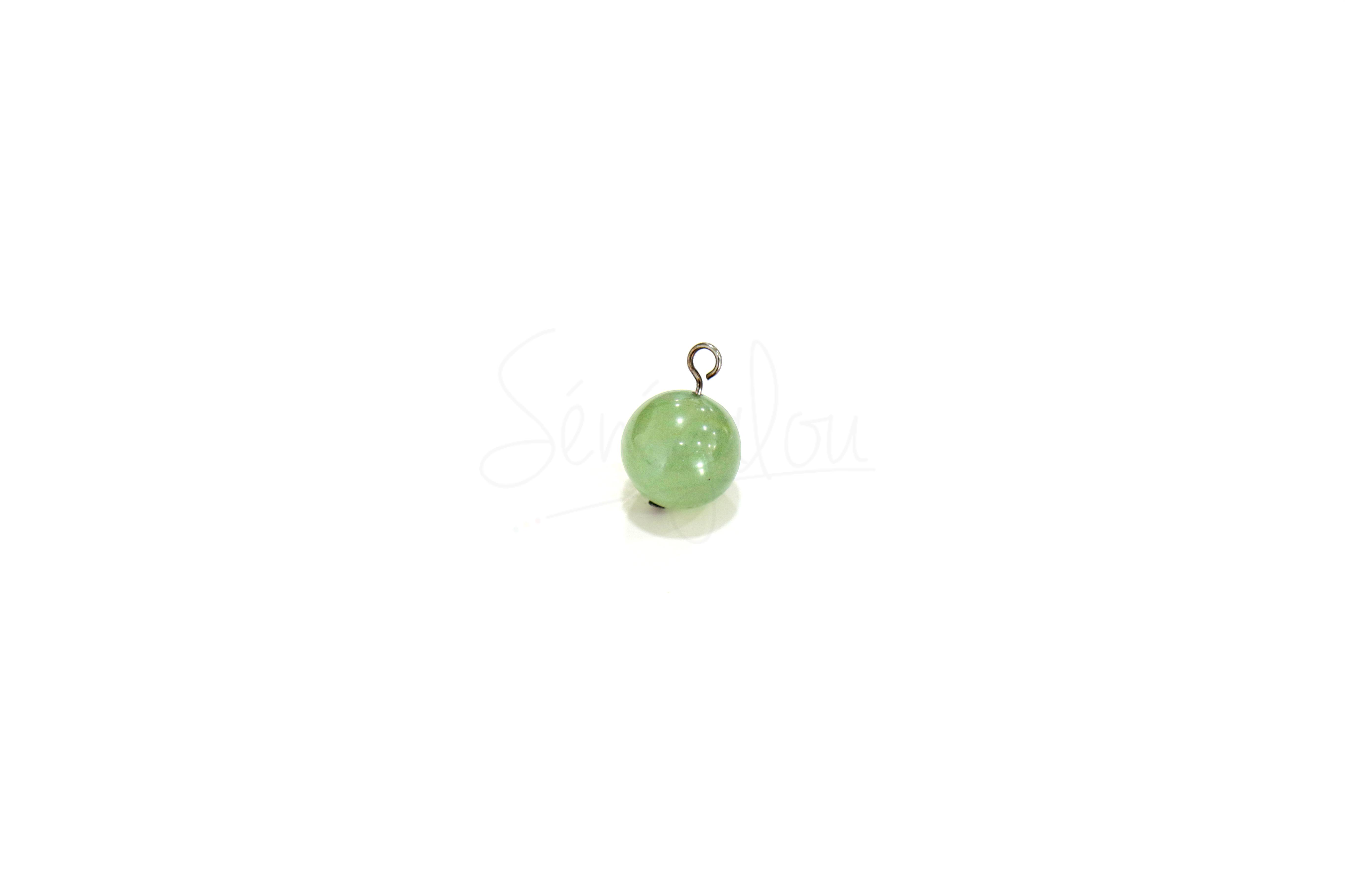 Pendentif Boule Jade
